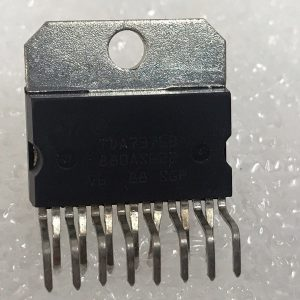 TDA7376B Audio Power Amplifier, AB, 2 Channel, 80 W, 8V to 18V, Ic 15 Pins