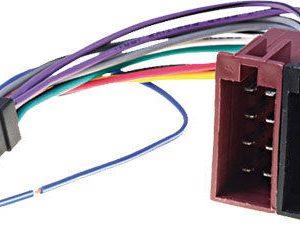 Sony Xsp-N1bt car radio stereo 16 pin Iso wiring harness loom lead wire