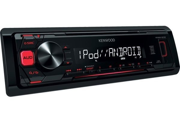 Kenwood KMM-202 Mechless car Radio stereo with USB,iPod & Flac playback New