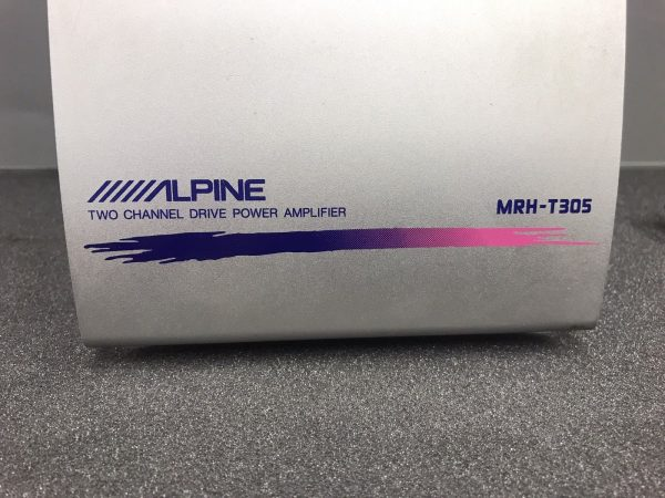 Alpine Mrh-T305 Car Radio Stereo External Car Amplifier Amp 2 Channel Drive