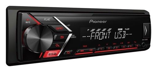 Pioneer Mvh-S100ub Digital car stereo RDS tuner USB Aux-In Supports Android New