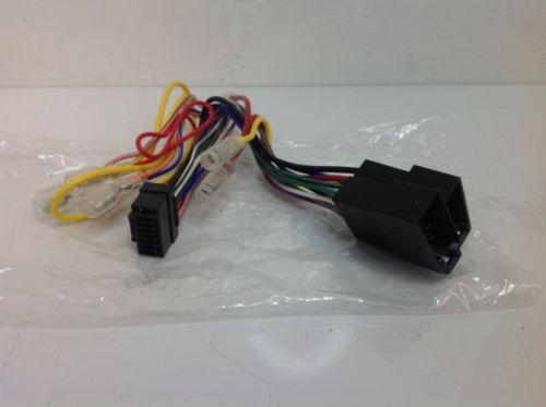 Alpine Genuine Black 16 Pin Wiring Harness Loom Wire Iso Cde-125bt Cde-135bt