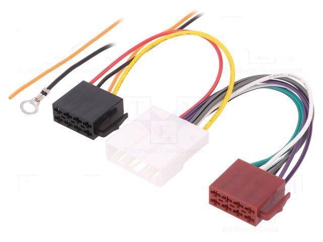 Nissan Car stereo Radio Iso Wiring Lead Adaptor Convertor 2007 Models Onwards
