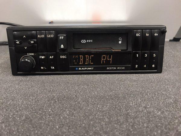 Blaupunkt Old Classic Vintage Car Radio Cassette Player Model Boston Rcc45