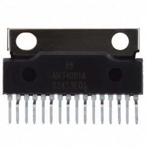 Panasonic An34001a Car Radio Stereo Internal Amplifier Ic Sound Chip