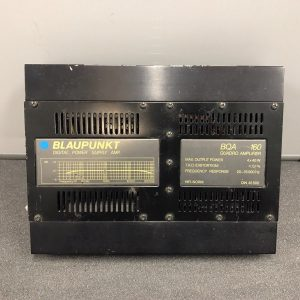 Blaupunkt Quadro Bqa160 Old Classic Vintage Car Add On Amp Amplifier 4 Channel