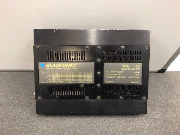 Blaupunkt Quadro Bqa160 Old Classic Vintage Car Add On Amp Amplifier 4 Channel