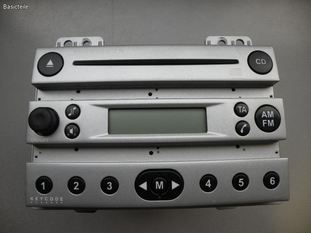 Ford Fusion Fiesta 4500 rds 6006 rds 3500 rds car radio stereo decode code