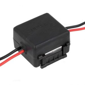 Car Radio Stereo In Line 3 Amp Interference Filter Noise Suppressor Wiring Box