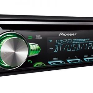 Pioneer Deh-S5000bt Bluetooth car stereo RDS tuner USB Aux-In Supports Android