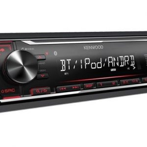 Kenwood Kmm-Bt204 Bluetooth Digital car stereo Mp3 USB Aux-In Android iPhone