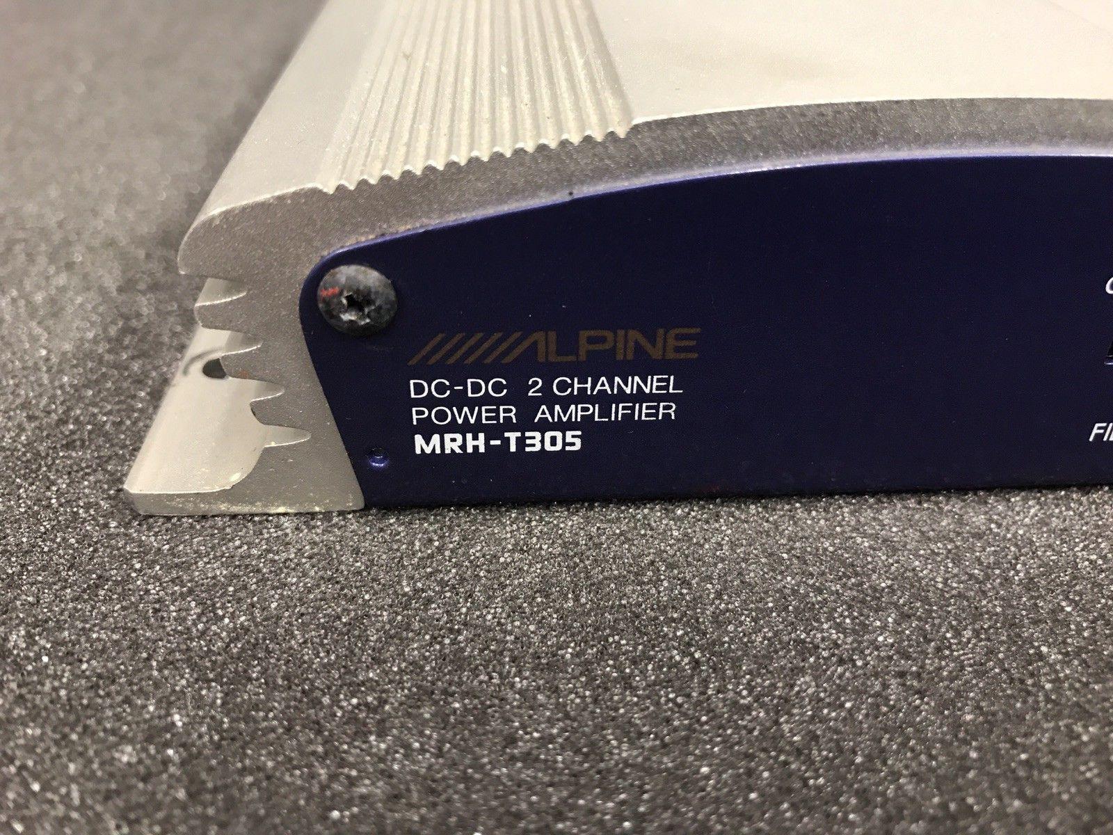 Alpine Mrh-T305 Car Radio Stereo External Car Amplifier Amp 2 Channel Drive