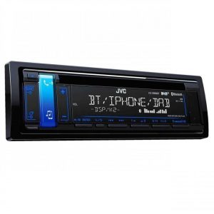 Jvc Kd-Db98bt Car Radio Stereo Cd Mp3 Front Usb Aux In Player Bluetooth Dab+