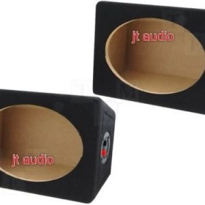 "Car radio stereo speaker Mdf Boxes Enclosures 6 X 9 Inches 6x9"" Inch Boxes Pair"