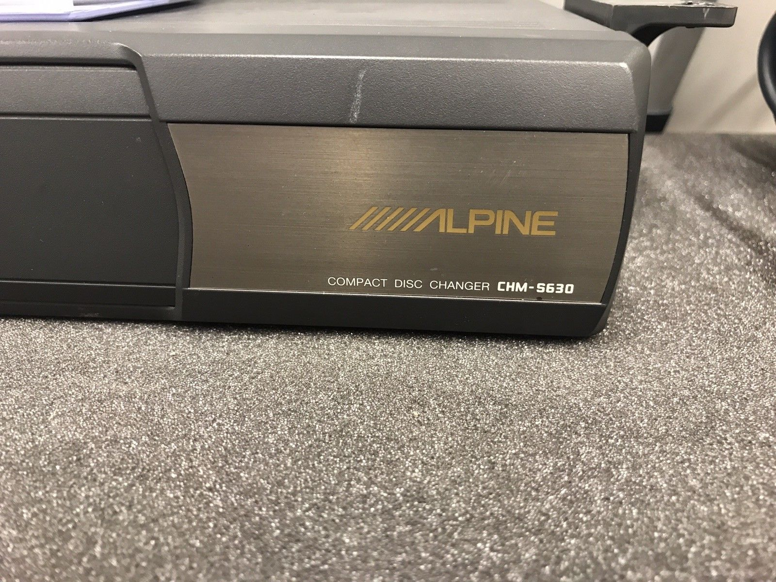 Alpine Add On M Bus 8 Pin Car Radio Stereo 6 Disc Plug In Cd Changer Chm-S630