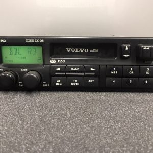 Volvo 22dc711 Old Classic Vintage Radio Cassette Player Model Phillips Vc-802