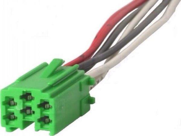 Renault Car Radio Display Blaupunkt Becker Iso Mini Green Plug Connector wiring
