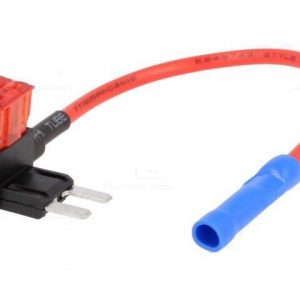 Piggy Back Add On Fuse Link Small Type Fuse Circuit Car Audio Wiring Loom