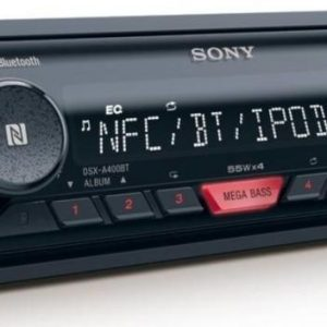 Sony Bluetooth Dsx-A410bt Car Radio Stereo Mp3 Usb Aux In Player New 55x4 Watts