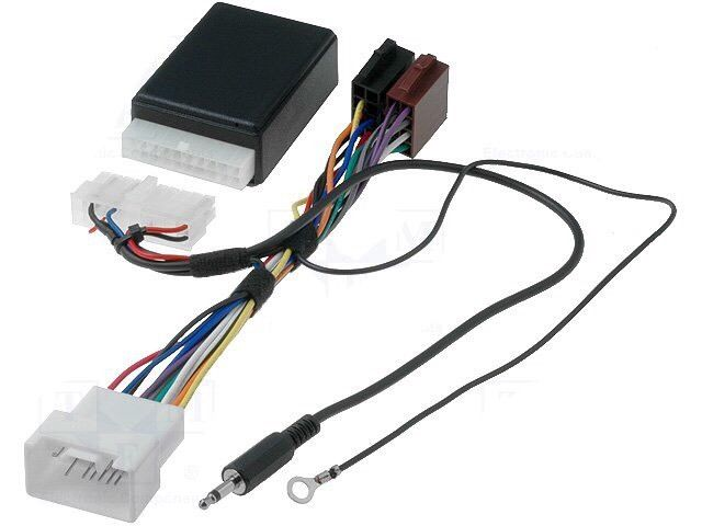 Mitsubishi - Jvc Car Radio Stereo Steering Wheel Adaptor Lead Harness Loom wire
