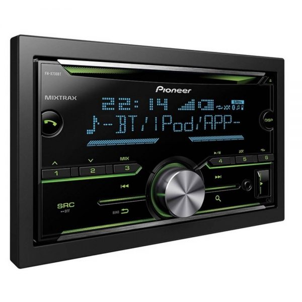 Pioneer Bluetooth Car Radio Cd Mp3 Usb Aux Player Double Din Fh-X730bt Spotify
