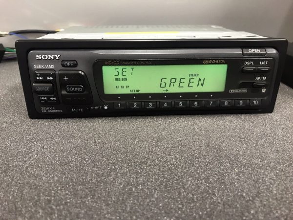 Sony Xr-C500rds Old Classic Vintage Radio Cassette Player Cd Changer Control