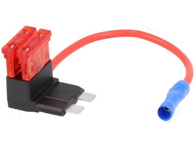 Piggy Back Add On Fuse Link Large Type Fuse Circuit Car Audio Wiring Loom