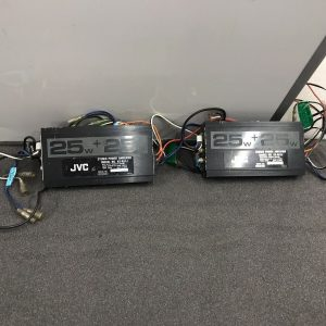Jvc Ks-A51J Car Radio Stereo Pair Of External Car Amplifiers Amps 2 Channels