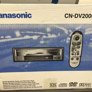 Panasonic Cn-Dv2000EN New Unused Old Stock Boxed Add On Sat Nav Dvd Player
