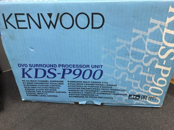 Kenwood New Unused Old Stock Boxed Kds-P900 Dvd Surround Processor Unit 5.1 Ch