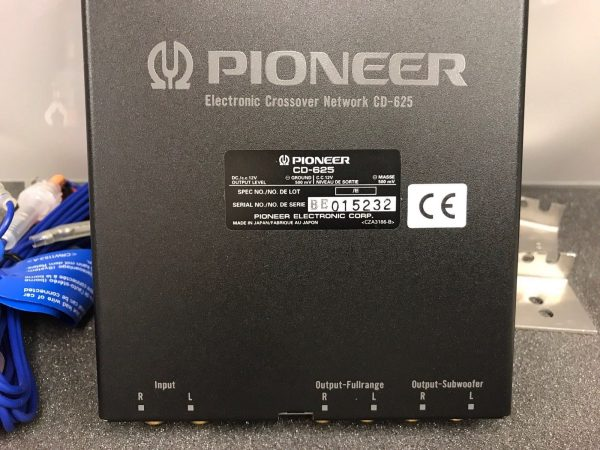 Pioneer New Unused Old Stock Boxed Electronic Crossover Network Model Cd-625
