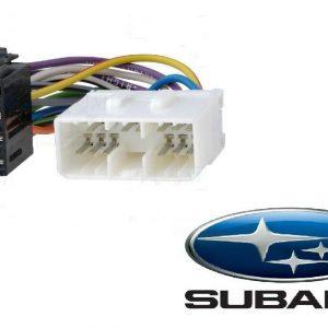 Subaru Car Radio Stereo Iso aftermarket Wiring Harness adaptor lead 1993 Onward