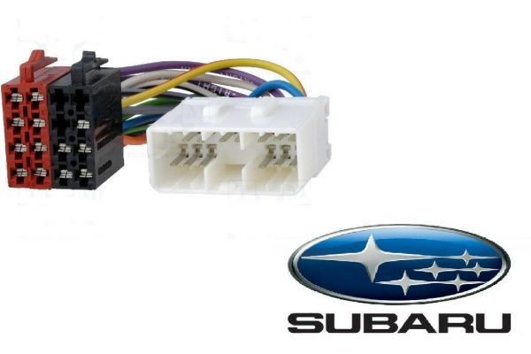 Subaru Car Radio Stereo Iso aftermarket Wiring Harness adaptor lead 1993 Onward
