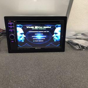 Kenwood Dnx4210bt Double Din Sat Nav Bluetooth Dvd Touchscreen Cd MP3 Usb Aux In