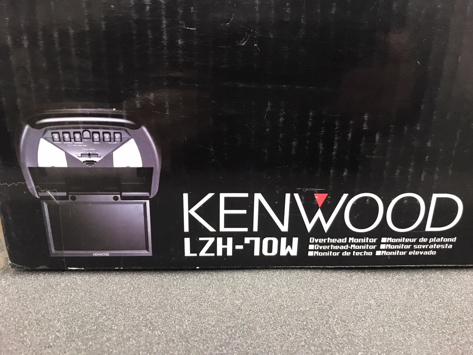 Kenwood New Unused Old Stock Lzh-70w Fold Down Overhead Lcd Monitor Boxed