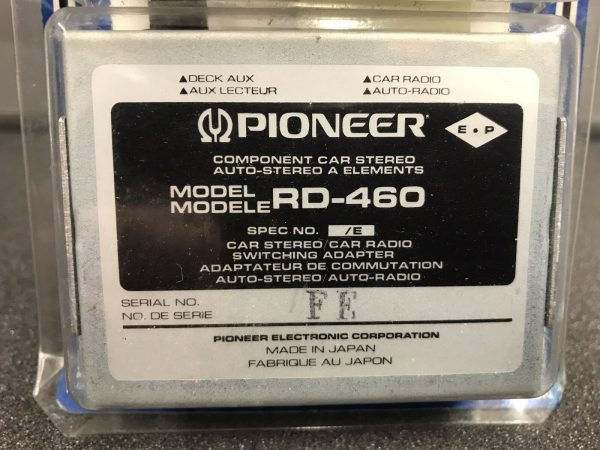 Old Pioneer Rd-460 Component Switching Adaptor Centrate Retro Classic New Old