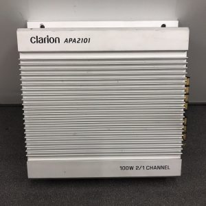 Clarion Apa2101 Old Classic Vintage Car Add On Amp Amplifier 2/1 Channel Amp