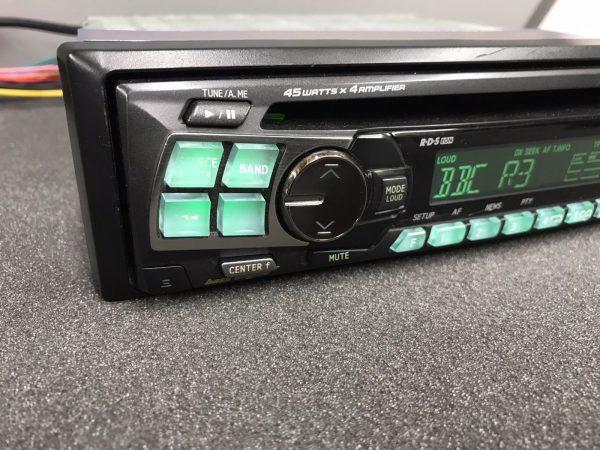 Alpine Car Radio Stereo Cd Player Model Cde-9801r Green Illumination Rds 45w x 4
