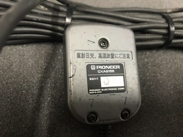 Pioneer cxa9155 tune up voice activation mic Tested and working