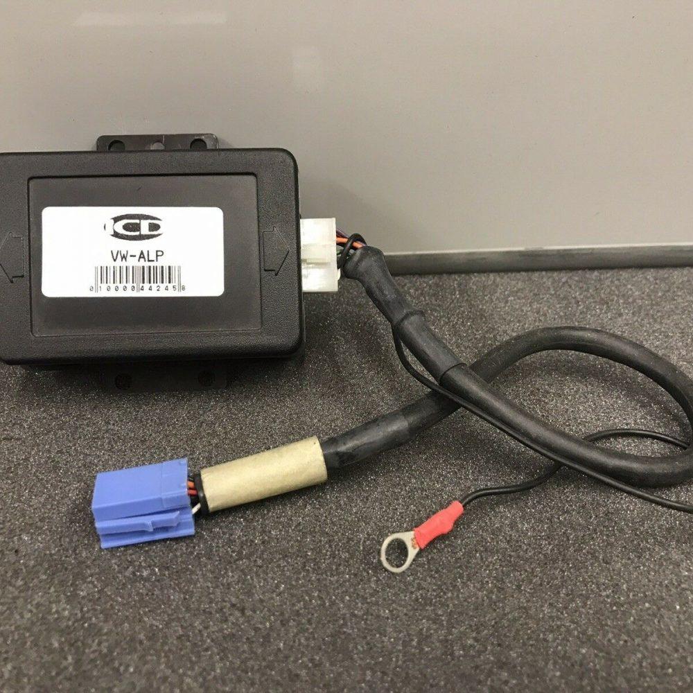 VW Audi CD adaptor for Alpine Cd Changers, Use Alpine Cd Changer In Vw Audi Cars