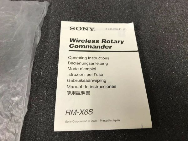 Sony Rm-X6s rmx6s Sony Remote control Car audio stereo Remote Stalk Controller