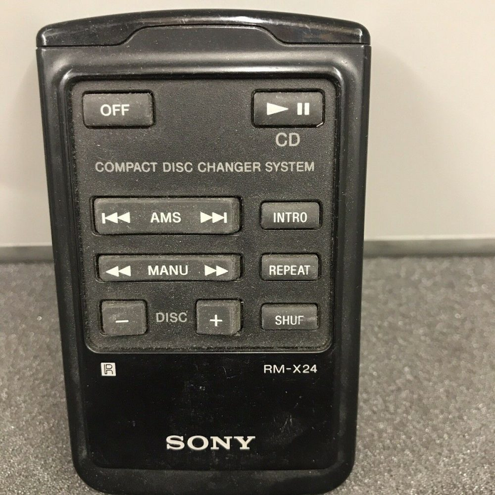 Sony Rm-X24 Old Type Remote control Commander Controller Rmx24 Used