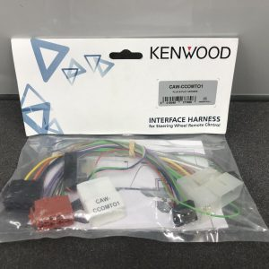 Kenwood Toyota Steering Wheel Commands Remote Control Adaptor Kit Caw-Ccomto1