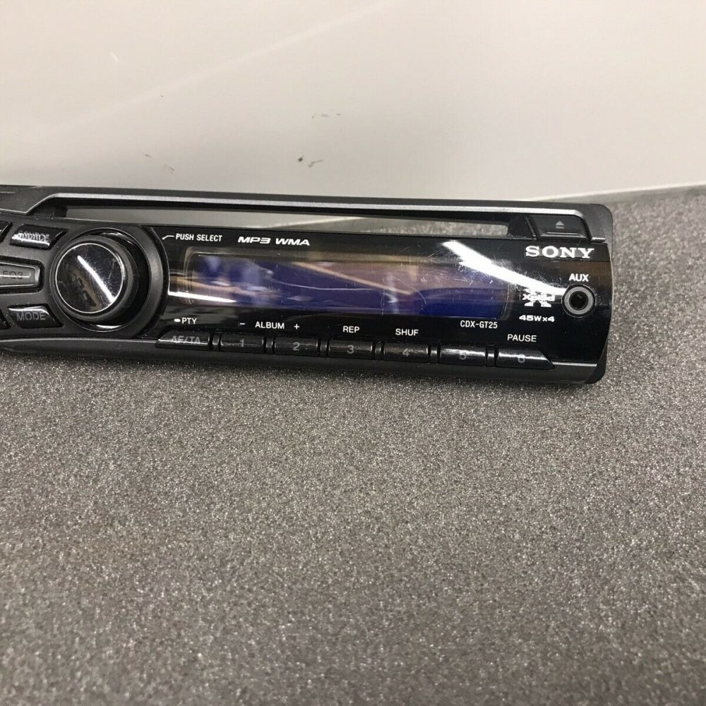 Sony Cdx-Gt25 Xplod Car Radio Stereo Face Front Panel complete Cdxgt25