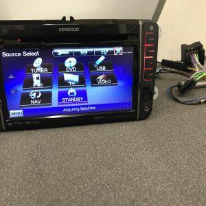 Kenwood Dnx520vbt Double Din Sat Nav Bluetooth Dvd Touchscreen MP3 Usb Aux Vw