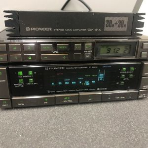 Pioneer Kpx-777 Old Classic Vintage Cassette Player Amp Booster Very Rare Set Up