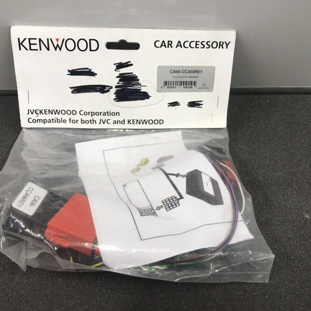 Kenwood Jvc Steering Wheel Commands Remote Control Adaptor Kit Caw-Ccanre1