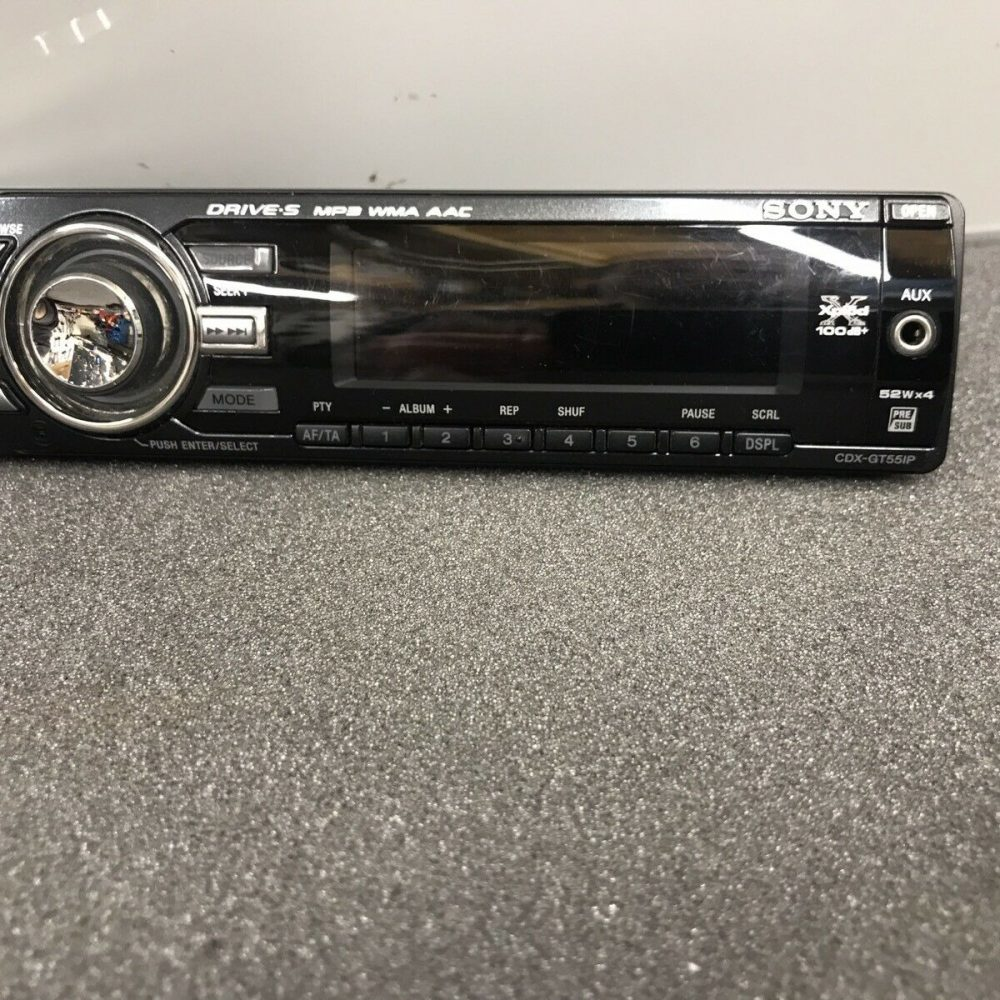 Sony Cdx-Gt55ip Xplod Car Radio Stereo Face Front Panel complete Cdxgt55ip