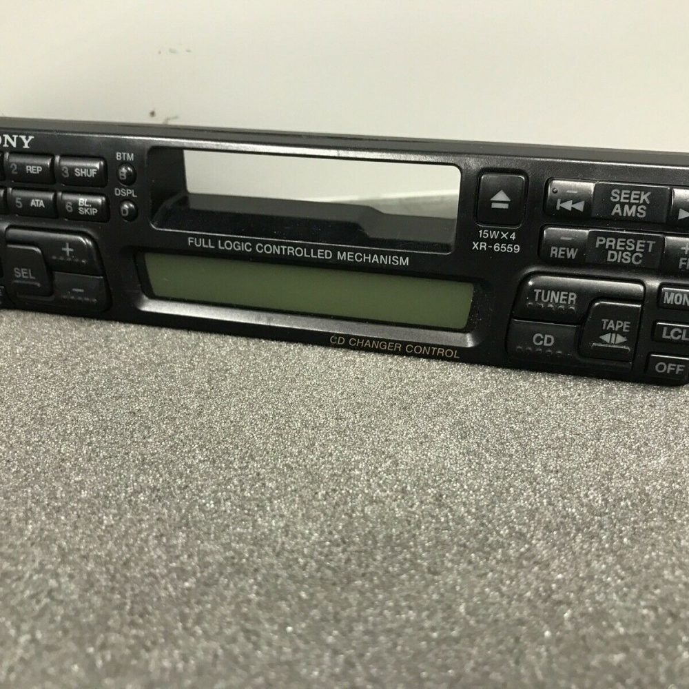 Sony Xr-6559 Car Radio Stereo Cassette Player Face Front Panel complete Xr6559