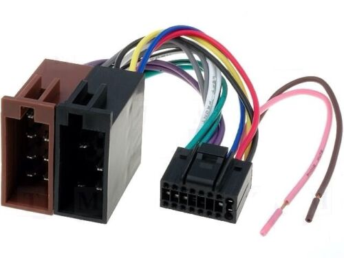 Jvc Car Radio Stereo 16 Pin Wiring Harness For Kd-X220 Kd-X200 Type Kd S Jvc Wire Harness on